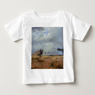 Vast blue beyond the shore baby T-Shirt