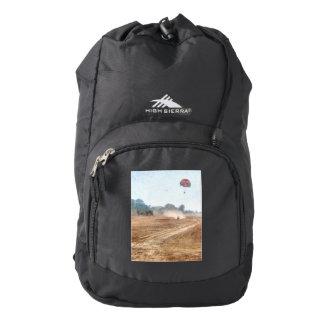 Vast blue beyond the shore high sierra backpack