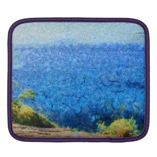 Vast expanse of the ocean iPad sleeves