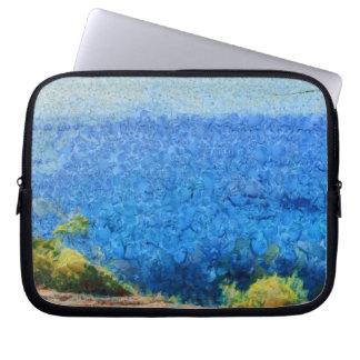 Vast expanse of the ocean laptop computer sleeve