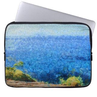 Vast expanse of the ocean laptop computer sleeves