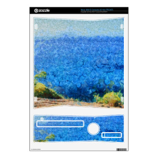 Vast expanse of the ocean xbox 360 s console decal