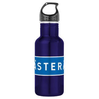 Vasteras, Swedish road sign 18oz Water Bottle