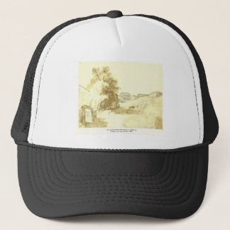 Vasylkiv fort in Kyiv by Taras Shevchenko Trucker Hat