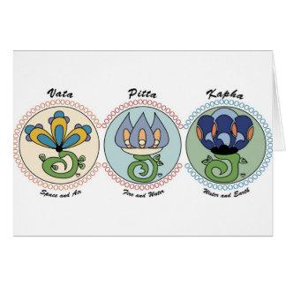 Vata-Pitta-Kapha Card