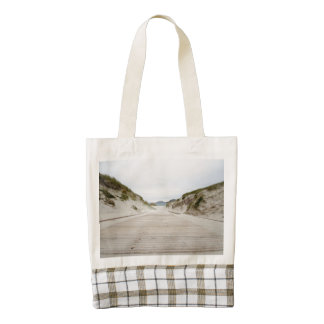 Vatersay Beach Zazzle HEART Tote Bag