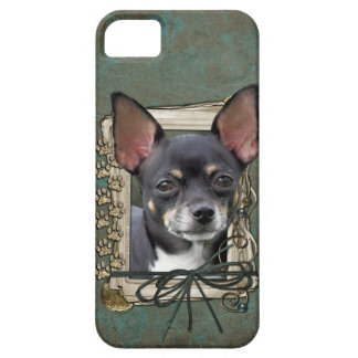 Vatertag - Steintatzen - chihuahua - Isabel iPhone 5 Fundas
