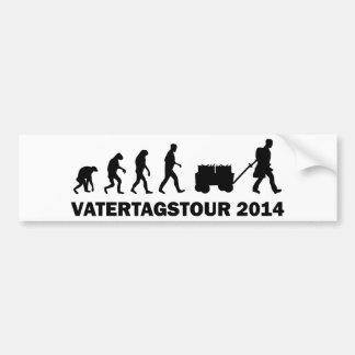 Vatertagstour 2014 pegatina para auto