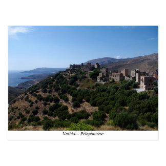 Vathia – Peloponnese Postcard