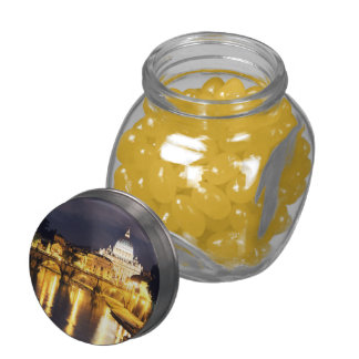 Vatican Bridge Of Angels Jelly Belly Candy Jar