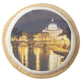 Vatican Bridge Of Angels Round Shortbread Cookie