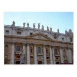 vatican building postcard