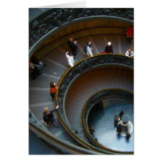vatican circular stairway card