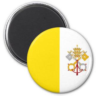 Vatican City 2 Inch Round Magnet