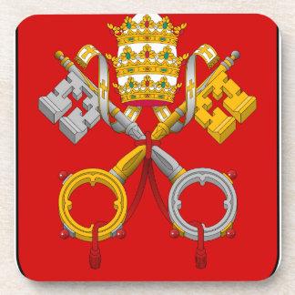 Vatican City Coat of Arms Coaster