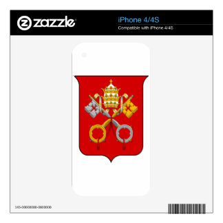 Vatican City Coat of Arms Decal For The iPhone 4