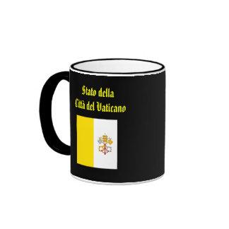 Vatican City Coffee Mug* Ringer Coffee Mug