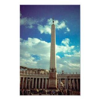 Vatican city column photo
