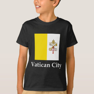 Vatican City Flag And Name T-Shirt