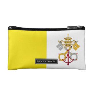 Vatican City flag Cosmetic Bag