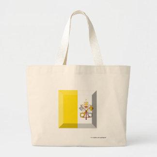 Vatican City Flag Jewel Canvas Bag