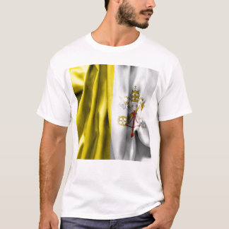 Vatican City Flag Men's T-Shirt