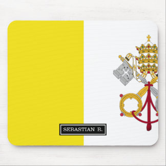 Vatican City flag Mouse Pad