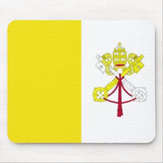 Vatican City Flag Mousepad