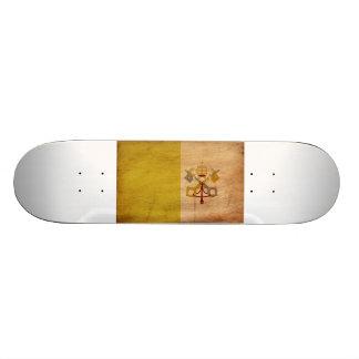 Vatican City Flag Skateboard Deck