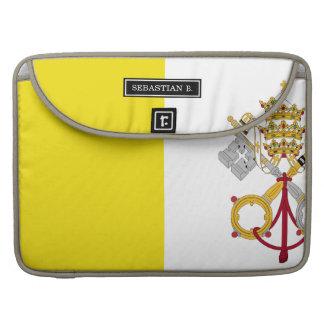 Vatican City flag Sleeve For MacBook Pro