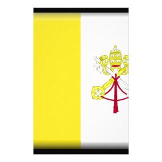 Vatican City Flag Stationery Design
