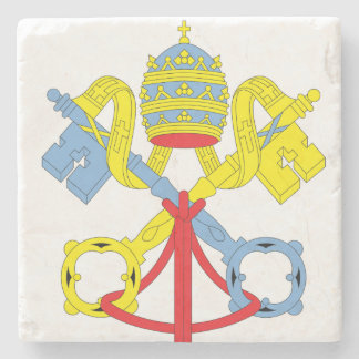 Vatican City Stone Beverage Coaster