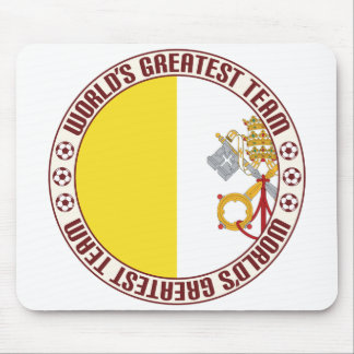 Vatican City Greatest Team Mouse Pad