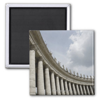 Vatican City is a city-state that came into 2 Inch Square Magnet