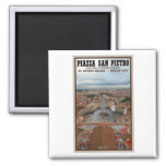 Vatican City - St Peters Square View Refrigerator Magnets