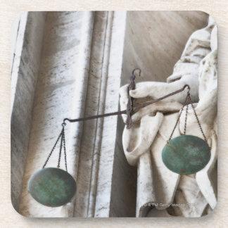 Vatican City statue Drink Coaster
