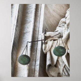 Vatican City statue Poster