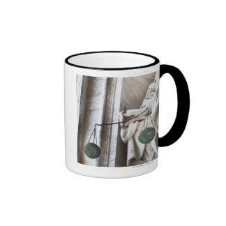 Vatican City statue Ringer Coffee Mug