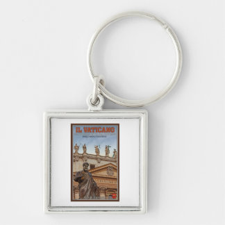 Vatican City Statues Keychain
