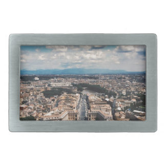 Vatican city top view belt buckle
