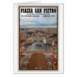 Vatican City - View from St Peter's Basilica Greeting Card