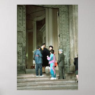 Vatican, devuelto en la entrada posters