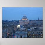 Vatican en la noche impresiones