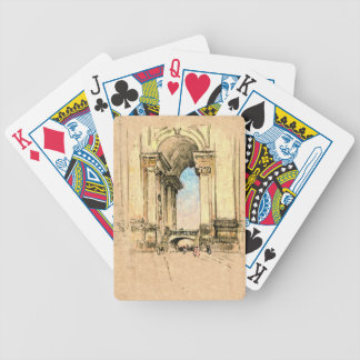 Vatican Entrance 1909 Bicycle Playing Cards