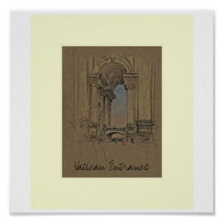 Vatican Entrance Print