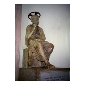 Vatican, estatua de San Pedro Impresiones