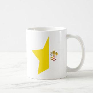 Vatican+Estrella de la ciudad Taza