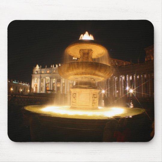 Vatican fountains, Bernini Mouse Pad