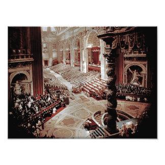 Vatican II council, Rome, 1962 Pope John XXIII Photo Print