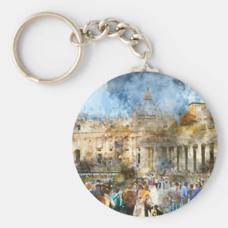 Vatican in  Rome Italy Keychain
